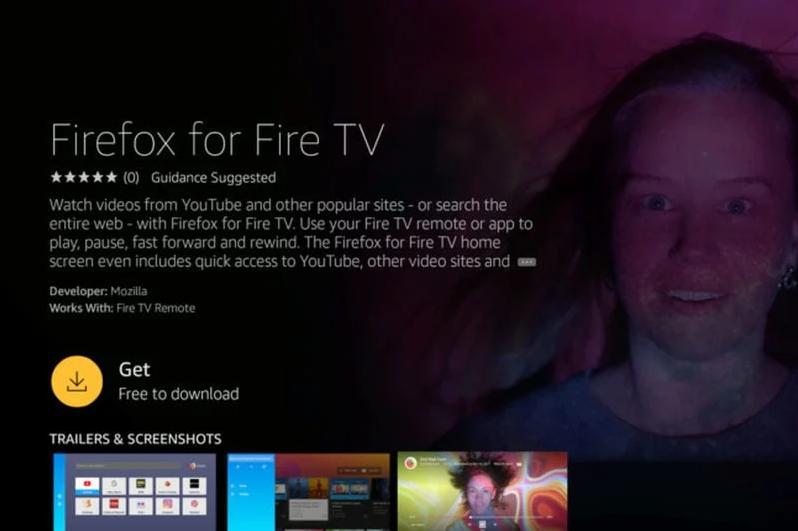 firefox fire tv browser