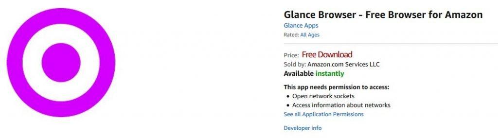 glance best browser firestick
