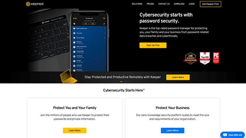 Keeper Best Password Manager