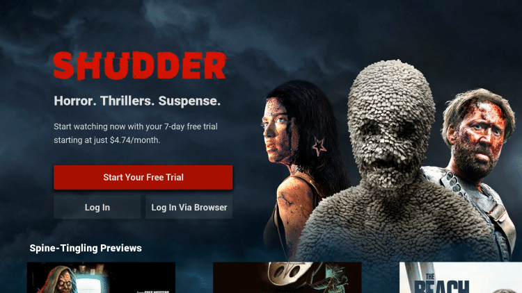 Shudder TV Free Trial
