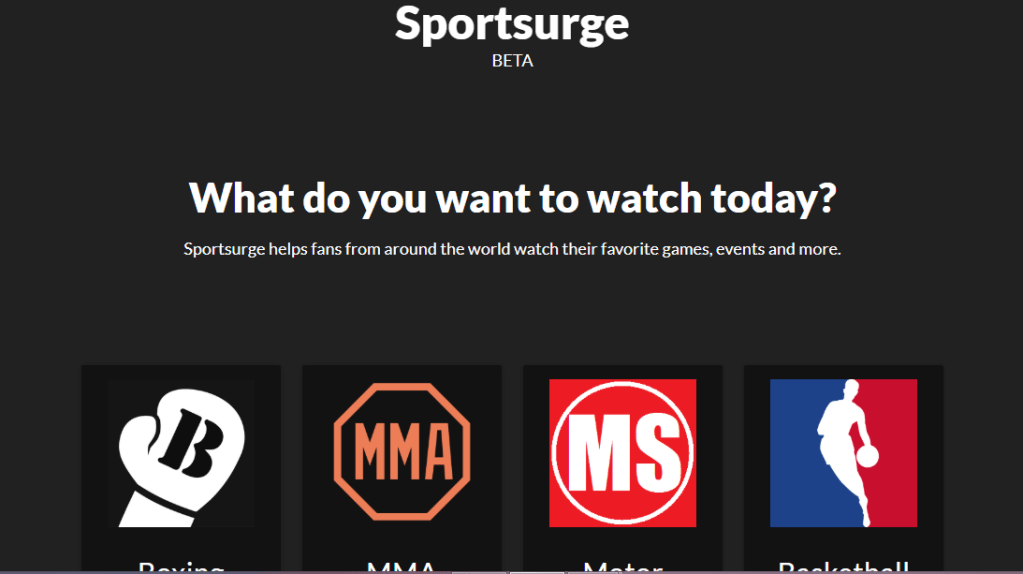Sportsurge Live TV