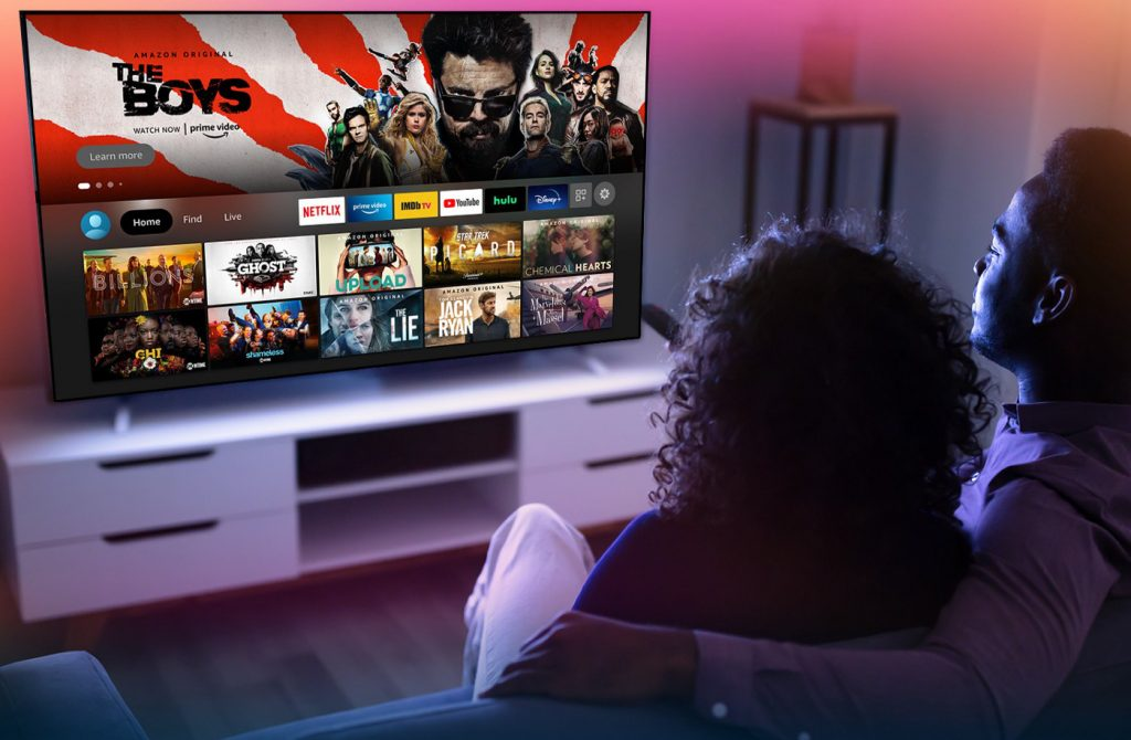 Amazon's redesigned Fire TV interface