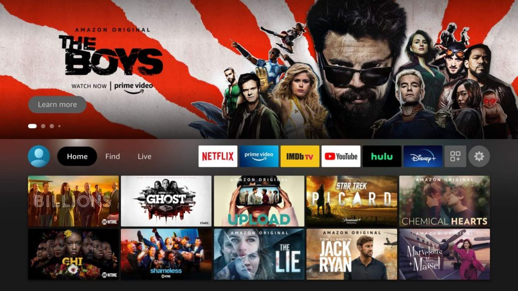 Amazon New Apps Screen
