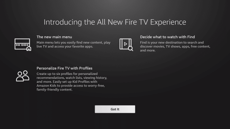 Introducing All New Fire TV Experience