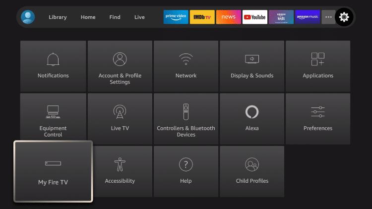 New Fire TV icon