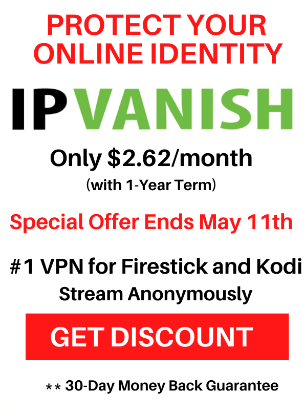 Last Weekend Discount IPVanish
