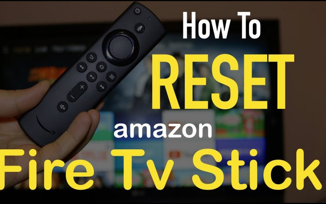 Factory Reset Amazon Firestick Without Pin or Remote
