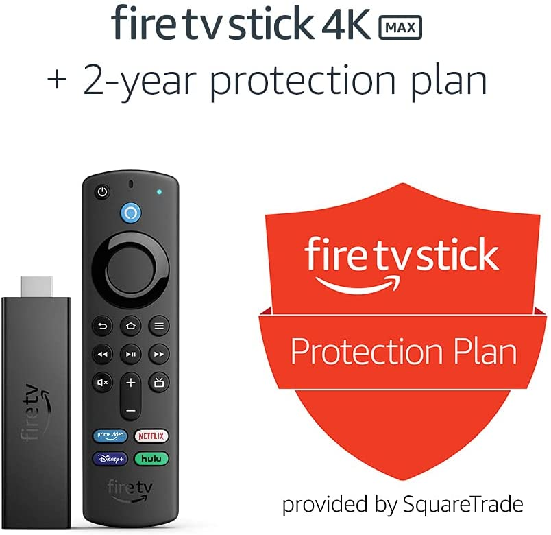 Fire TV Stick 4K Max with 2-Year Protection Plan